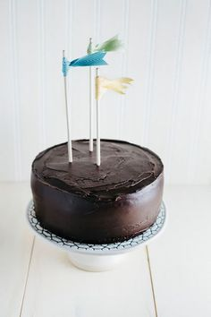 Hummingbird High: Chocolate Crème Fraîche Cake (a.k.a. the BEST chocolate cake EVER)