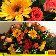 No más lunes tristes ... Nuestras flores tienen la cualidad de levantar el ánimo y embellecer todo lo que tocan. #FloristeriaEvelyn   Sorprende a esa persona especial con este lindo arreglo floral. ¡Pídelo a domicilio en el 2263 2384 / 2264 2658!  ¡Feliz inicio de semana!