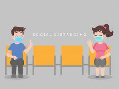 Social distancing, people sit on chair k. Hand Crafts For Kids, Nurse Art, Cute Anime Coupes, Funny Phone Wallpaper, Isometric Design, Motto, Character Poses, People Illustration, People Sitting