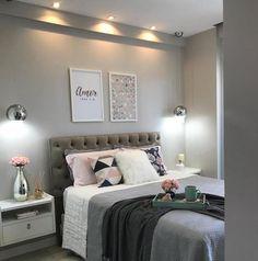 Fancy Bedroom, Stylish Bedroom, Bedroom Inspo, Bedroom Decor, New Room, Interior Design Living Room, New Homes, Sweet Home, Decoration