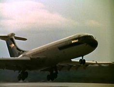 """""""Rotate!"""" - BOAC Vickers Standard VC10 (Series 110) on departure - date, registration and location unknown."""