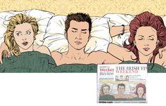 irish weekend review (haha:))  Editorial illustration