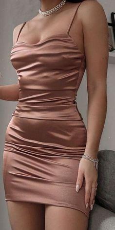 Mi nombre es ____ Padilla, si así es, soy hermana de Orson Padilla, e… #romance # Romance # amreading # books # wattpad Cute Prom Dresses, Prom Outfits, Edgy Outfits, Mode Outfits, Tight Dresses, Cute Casual Outfits, Elegant Dresses, Pretty Outfits, Pretty Dresses
