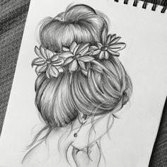 is part of pencil-drawings - pencil-drawings Pencil Sketch Drawing, Girl Drawing Sketches, Art Drawings Sketches Simple, Pencil Art Drawings, Realistic Drawings, Sketch Painting, Tumblr Art Drawings, Cool Sketches, Hipster Drawings