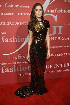 2015 Fashion Group International Night Of Stars Gala on October 22, 2015.   - ELLE.com