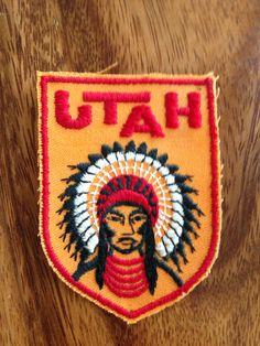 Utah Travel Patch by Voyager by HeydayRetroMart on Etsy, $4.00