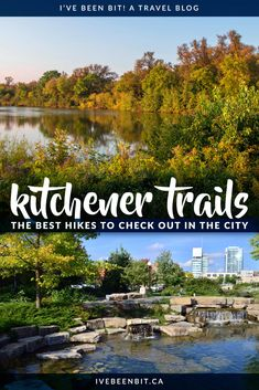 Whether you're looking for a quick dose of nature or an afternoon of fun, these Kitchener trails are sure to be just what the doctor ordered! Ontario City, Ontario Travel, Oh The Places You'll Go, Places To Travel, Places To Visit, Backpacking Canada, Canadian Travel, Visit Canada, Best Cruise