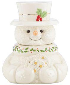 Snowman cookie jar