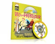 De Vlo en de Professor (Boek+CD) Is Ilias helemaal gek van!
