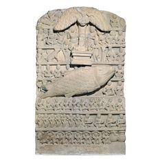 Sandstone Stele depicting Matsya by Unknown Artist. India you guessed it in the British Museum Buddha Life, Greek Art, Ancient Artifacts, British Museum, Indian Art, Art And Architecture, Stone Sculptures, Totems, Antiquities