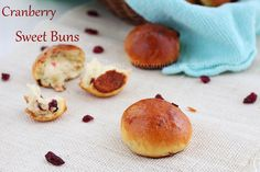 Cranberry Sweet Buns