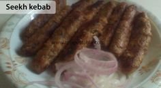 Seekh kebab Recipe - Recipes Table Seekh Kebab Recipes, Eid Food, Ground Lamb, Fresh Mint, Coriander, Starters, Eid Recipes, Chili, Sausage
