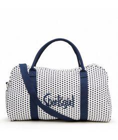 NAVY SPOT DUFFLE BAG - Bags - Accessories d53365d017512