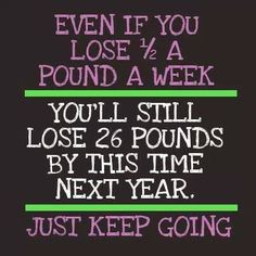 GREAT reminder!! Slow progress is better than no progress!