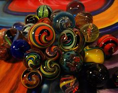 Marbles Galore ~ Photo by David Tomasetti©
