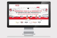Site e-commerce MCD CHR // Sofia Doudine Graphiste Webdesigner B2B Freelance