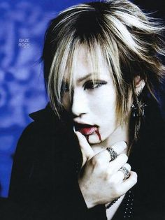 Uruha the GazettE Aoi The Gazette, Harajuku, Drum Band, Visual Kei, The Dreamers, Beautiful Men, Singer, Celebrities, Image