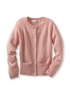 90% OFF TroiZenfants Girl's Cardigan (Pink)