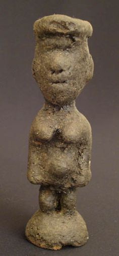 Wooden Lobi Fetish Figure #652 | Fetish | Artifacts — Deco Art Africa - Decorative African Art - Ethnic Tribal Art - Art Deco