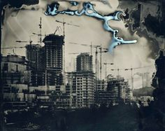 """Yusuf Murat Şen'in """"Islak Kent / Wet City"""" adlı sergisi, 13 Kasım 2014 tarihi'nde MSGSÜ Tophane-i Amire Kültür ve Sanat Merkezi'nde"""