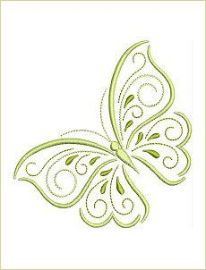 Making Embroidery Easier for You! Free Machine Embroidery Designs, Custom Embroidery, Embroidery Applique, Embroidery Stitches, Flower Embroidery Designs, Butterfly Embroidery, Butterfly Quilt, Embroidery On Clothes, Brazilian Embroidery