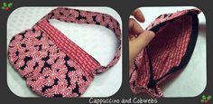Cute small purse that can be made for the seasons.  Would be cute for a child made with fun fabrics.
