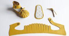 moldes para hacer botitas de cuero para bebe - Buscar con Google