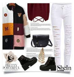 """Shein 8 / 10"" by mell-2405 ❤ liked on Polyvore"