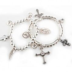 Bibi Bijoux Double Cross bracelet