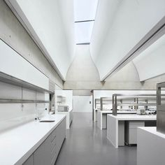Sainsbury Laboratory by Stanton Williams - Inspiration for University Campus in Middle East by SI Architects