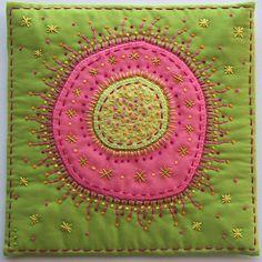 amoeba in pink