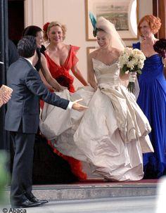 la robe de mariée vivienne westwood de Carrie Bradshaw dans « Sex & The City » - wedding - bride