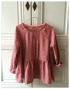 blouse marthe de la republique du chiffon                                                                                                                                                                                 Plus