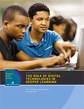 The Role of Digital Technologies in Deeper Learning   Jobs for the Future