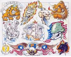 Image result for animal tattoo designs