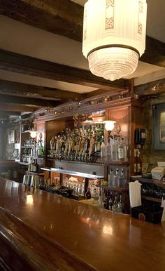 Go British! Spend the night at Heart of Oak Pub, a British-designed pub with a list of English-styled beers and pub menu