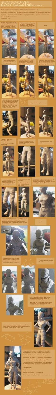 Tutorial 4 - Body Building by =LadyDore on deviantART