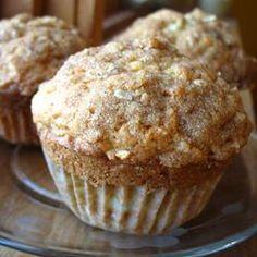 Apple Strudel Muffins Allrecipes.com