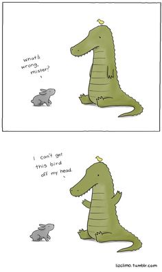 short arms are funny but this is also cute Funny Animal Comics, Cute Comics, Funny Comics, Funny Animals, Cute Animals, Tierischer Humor, T Rex Humor, Cute Memes, Funny Cute