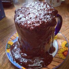 Mug cake choco amandes
