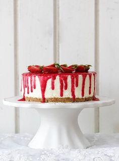 Erdbeer Nobake Joghurt Torte