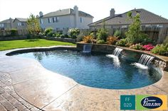 51 Popular Small Swimming Pool Design On A Budget. Are you thinking of having a swimming pool but are worried about ruining the landscaping around it? Swimming Pool Pictures, Small Swimming Pools, Swimming Pool Designs, Swimming Ponds, Small Pools, Pool Spa, Pool Landscape Design, Landscape Concept, Paradise Landscape