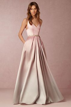 breathtaking pink and grey ombre gown!!!