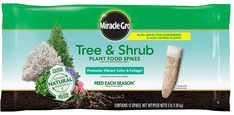 Extend the beauty of your garden to the rest of your landscape with Miracle-Gro tree & shrub plant food spikes. Use once a season; In the spring & fall; for lush; beautiful foliage & vibrant color on all deciduous; Trees And Shrubs, Flowering Trees, Trees To Plant, Liquid Fertilizer, Organic Fertilizer, Hydrangea Fertilizer, Hydrangea Bloom, Hydrangeas, Acid Loving Plants