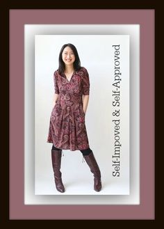 Self Improvement starts with looking and feeling great in the best dress for your body! http://www.karinadresses.com/