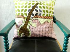 Science Pillow Cover.  21 x 21.  Large Cushion by MyWifeYourWife, £32.50