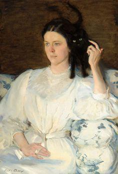 Cecilia Beaux (EE.UU., 1855-1942). Sita and Sarita, c. 1921. Corcoran Collection.