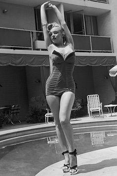 Idealgewicht in den 50er Jahren Marilyn Monroe