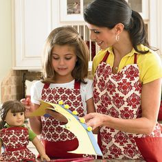 Biltmore Inspirations strives to help busy Moms celebrate every day in with style.  These stylish matching aprons are available exclusively through Biltmore Inspirations.  To find out how to purchase these durable chino cotton aprons with the signature Biltmore damask design, please visit, www.BiltmoreInspirations.com/InspiredWithin or call Independent Sales Consultant, Megan O'Donnell at (609) 203-6601.  Isn't it time you were inspired?
