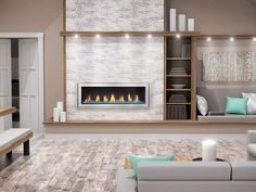 The Napoleon Vector 50 Gas Fireplace is second to none. Relax in front of 762 square inches of fireplace viewing area while up to BTU's of heat fills your room. Direct Vent Gas Fireplace, Vented Gas Fireplace, Natural Gas Fireplace, Linear Fireplace, Fireplace Hearth, Modern Fireplace, Fireplace Design, Gas Fireplaces, Napoleon Gas Fireplace
